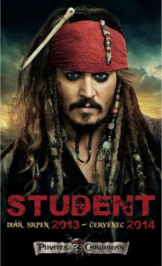 Diář 2014 - W. Disney Piráti z Karibiku - diář student