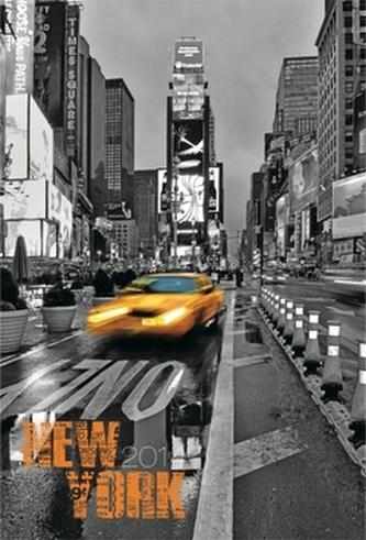 Diář 2014 - New York Jakub Kasl - Týdenní magnetický