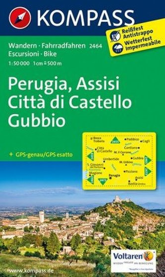 Perugia, Assisi, Citta di Castello  2464   NKOM