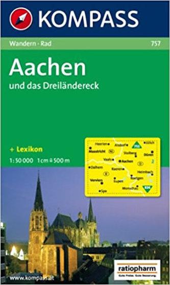 Aachen und das Dreiländereck   757   NKOM 1:50T