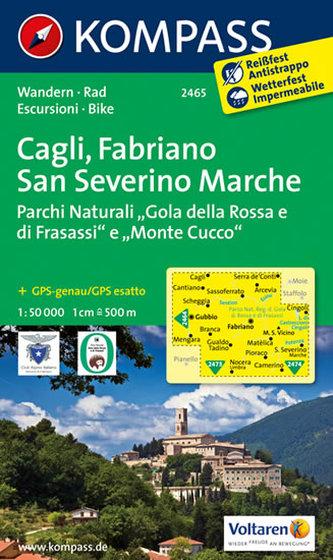 Cagli, Fabriano, San Severino 2465  NKOM