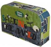 Kufřík dětský - Ovečka Shaun (zelený) - malý