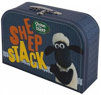 Kufřík dětský - Ovečka Shaun (modrý) - velký