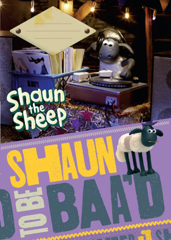 Sešit - Ovečka Shaun/A4 nelinkovaný 40 listů - neuveden