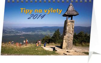 Kalendář 2014 - Tipy na výlety - stolní