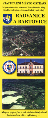 Radvanice a Bartovice     mapa