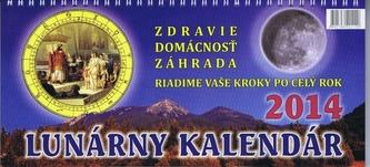 Lunárny kalendár na rok 2014