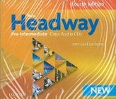 New Headway Pre-Intermediate Maturita Fourth Edition Class audio CDs