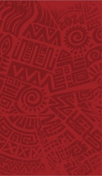 Diář 2014 - Červená s celoplošnou ražbou bez vnitřních ilustrací - týdenní kapesní