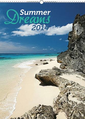 Kalendář 2014 - Summer Dreams - nástěnný