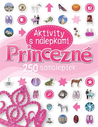 Princezné Aktivity s nálepkami