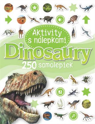 Dinosaury Aktivity s nálepkami