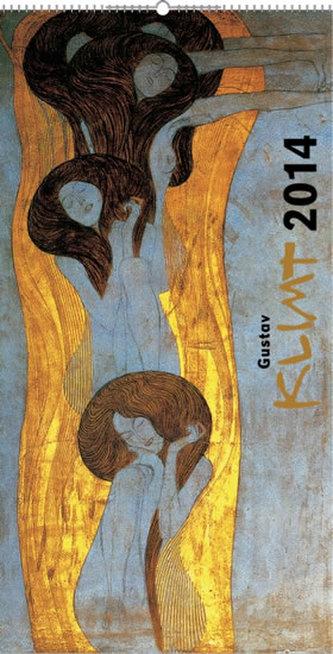 Kalendář 2014 - Gustav Klimt - nástěnný