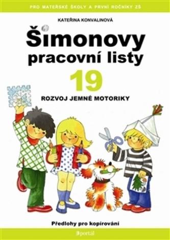 Šimonovy pracovní listy 19 - Kateřina Konvalinová