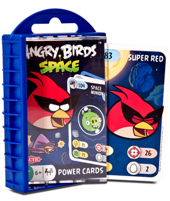 Angry Birds Space karty