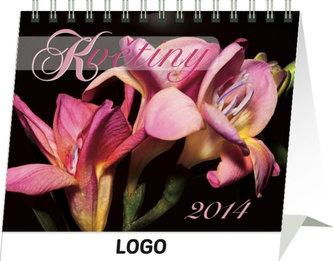 Kalendář 2014 - Květiny Praktik - stolní