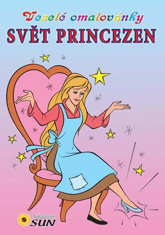 Svět princezen - Veselé omalovánky