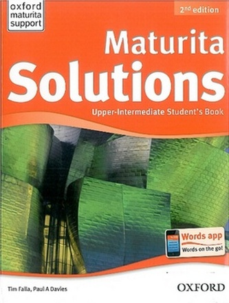 Maturita Solutions Upper-intermediate Student's Book Czech Edition