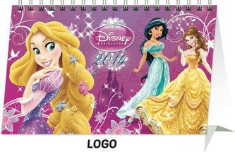 Kalendář 2014 - W. Disney Princezny - stolní