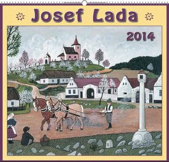 Josef Lada Na jaře 2014 - nástěnný kalendář