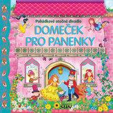 Domeček pro panenky Pohádkové otočné divadlo