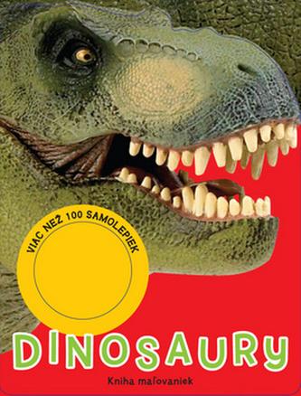 Dinosaury kniha mažovaniek