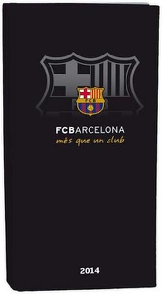 Diář A6 LYRA týdenní FCBarcelona 2014