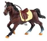 Kůň Hnědý se sedlem