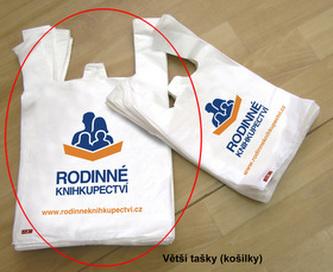 RK tašky nové 300 ks nové