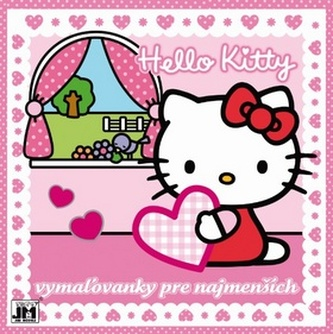 Hello Kitty Vymaľovánky pre najmenších