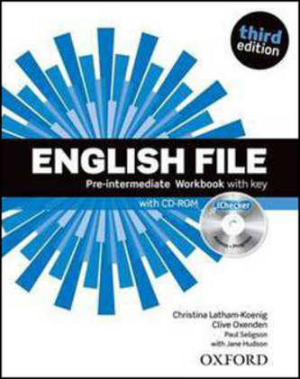 English File Pre-Intermediate Workbook with key + iChecker CD-ROM - Christina Latham-Koenig; Clive Oxenden; Paul Selingson