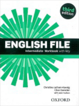 English File Intermediate Workbook with key + iChecker CD-ROM