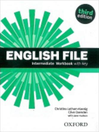 English File Intermediate Workbook with key + iChecker CD-ROM