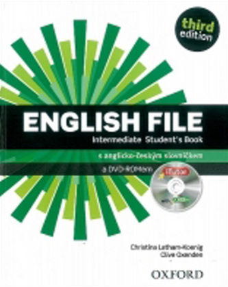 English File Intermediate Student´s Book + iTutor DVD-ROM Czech Edition - Christina Latham-Koenig; Clive Oxenden