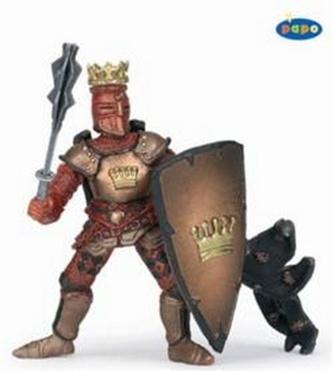 Král rytířů červený