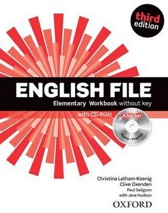 English File Elementary Workbook + iChecker CD-ROM - Christina Latham-Koenig; Clive Oxenden; Paul Selingson