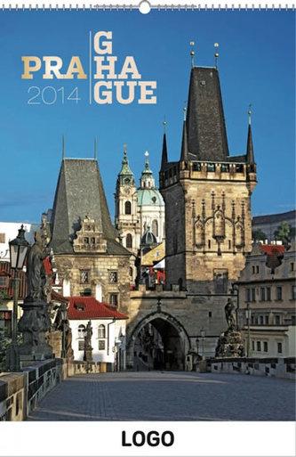Praha Praktik - nástěnný kalendář 2014