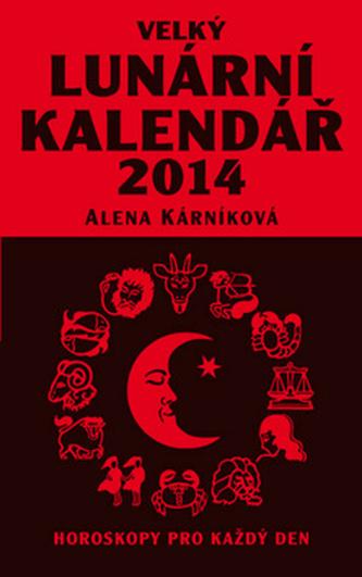 Velký lunární kalendář 2014