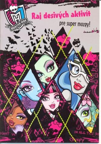 Monster High Príšerné aktivity pre desivo originálne príšerky!