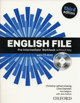 English File Pre-Intermediate Workbook without key + iChecker CD-ROM - Christina Latham-Koenig; Clive Oxenden; Paul Selingson