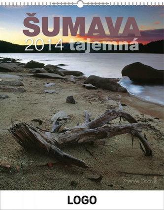 Šumava tajemná Praktik - nástěnný kalendář 2014