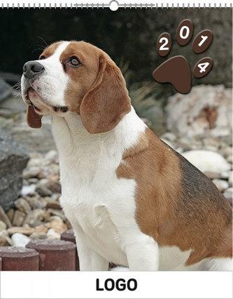 Psi Praktik - nástěnný kalendář 2014