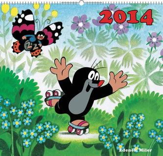 Krteček - nástěnný kalendář 2014
