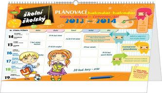 Školní plánovací kalendář - stolní kalendář 2014