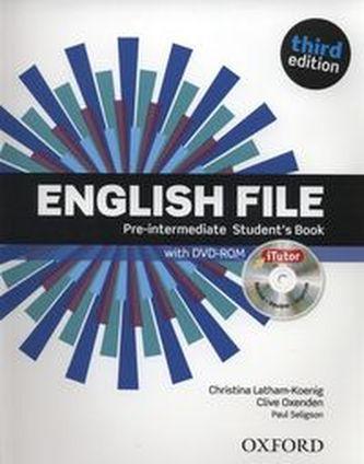 English File Pre-Intermediate Student´s Book + iTutor DVD-ROM
