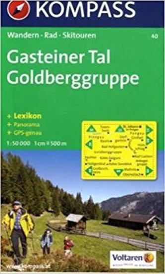 Gasteiner Tal Goldberggruppe 40 Kompass