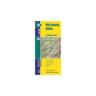 1:100T (29)-Bílé Karpaty,Chřiby (turistická mapa)