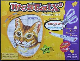 Mozaika střední - kočka