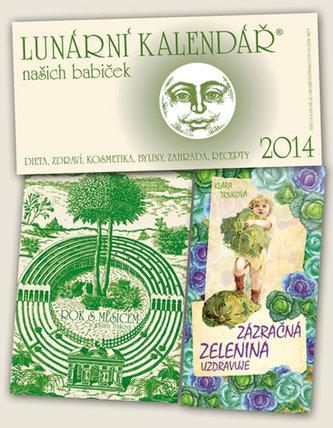 Lunární kalendář 2014 + Rok s Měsícem + Zázračná zelenina uzdravuje