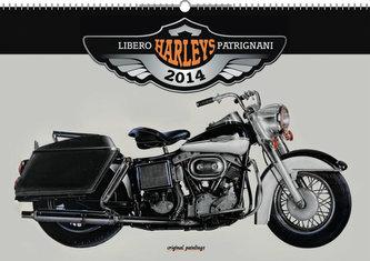 Kalendář 2014 - Harleys Libero Patrignani - nástěnný s prodlouženými zády